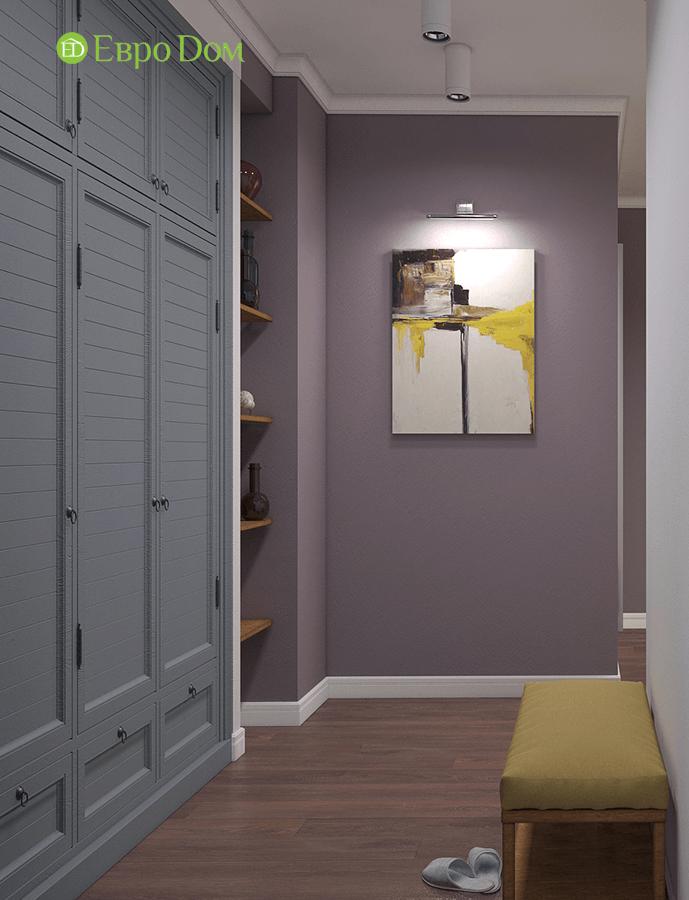 Дизайн двухкомнатной квартиры 67 кв. м в стиле прованс. Фото 012