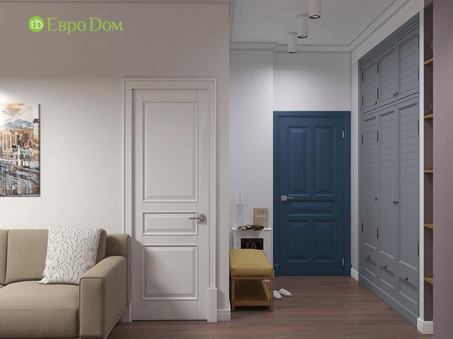 Дизайн двухкомнатной квартиры 67 кв. м в стиле прованс. Фото 013