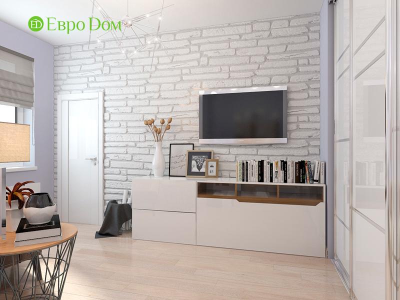 Дизайн интерьера квартиры в стиле прованс, 2 комнаты, 67 кв. м. Фото 03