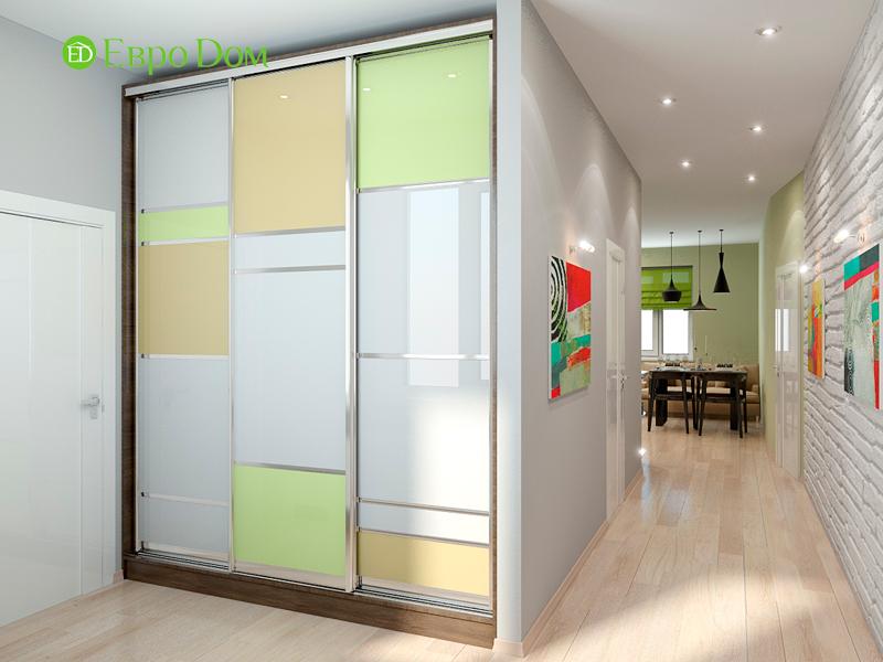Дизайн интерьера квартиры в стиле прованс, 2 комнаты, 67 кв. м. Фото 07