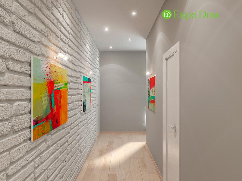 Дизайн интерьера квартиры в стиле прованс, 2 комнаты, 67 кв. м. Фото 08