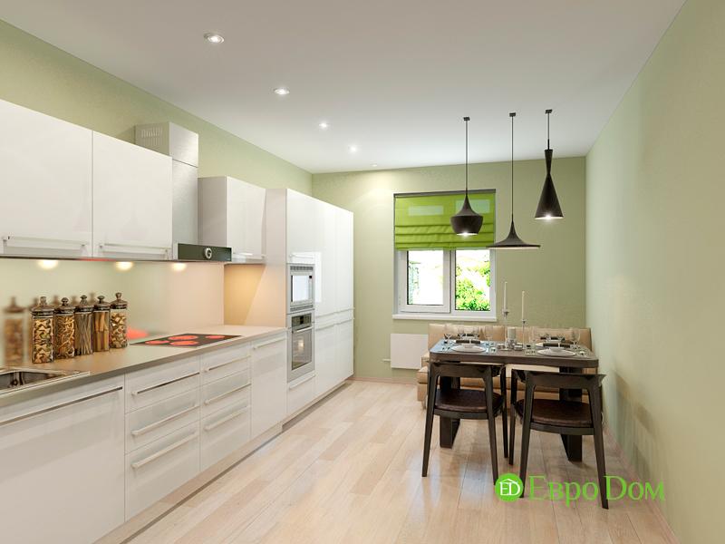 Дизайн интерьера квартиры в стиле прованс, 2 комнаты, 67 кв. м. Фото 09