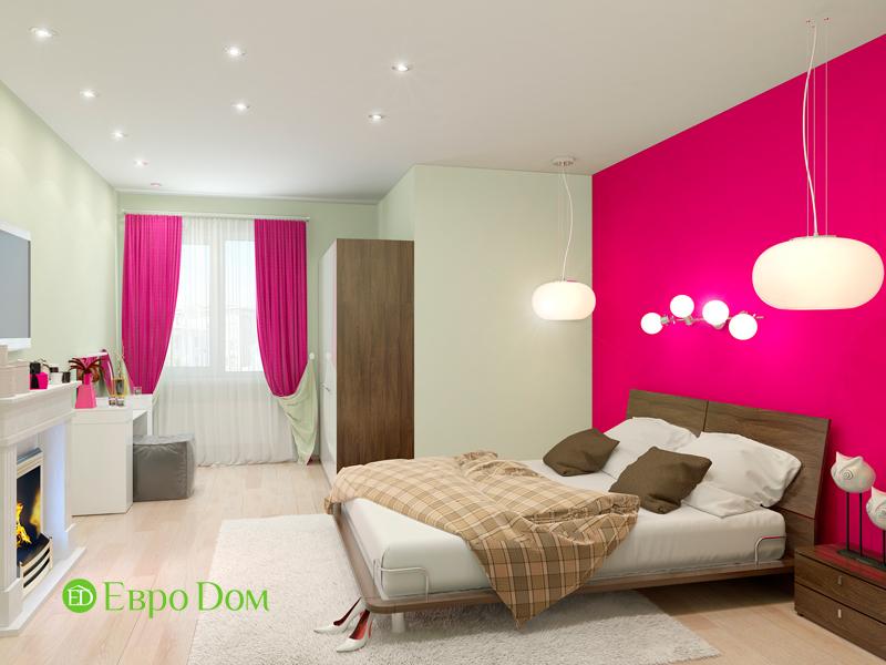 Дизайн интерьера квартиры в стиле прованс, 2 комнаты, 67 кв. м. Фото 010