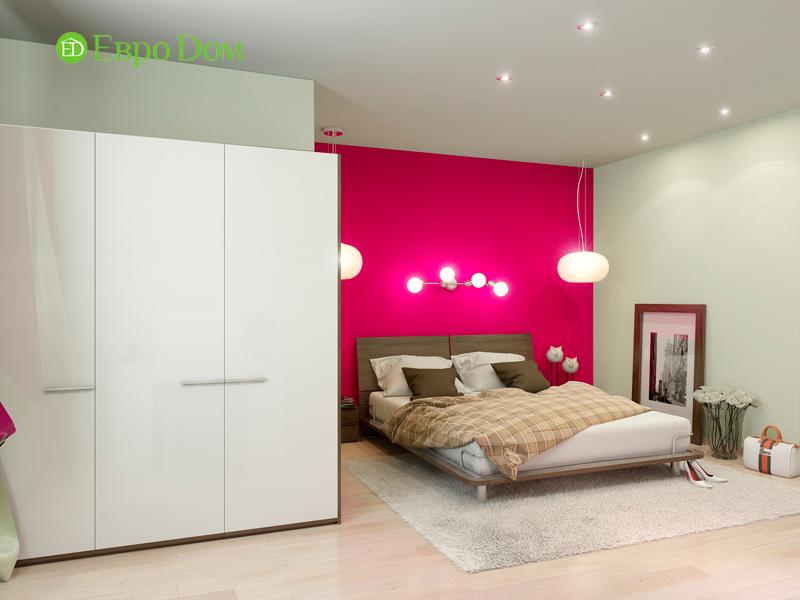 Дизайн интерьера квартиры в стиле прованс, 2 комнаты, 67 кв. м. Фото 011