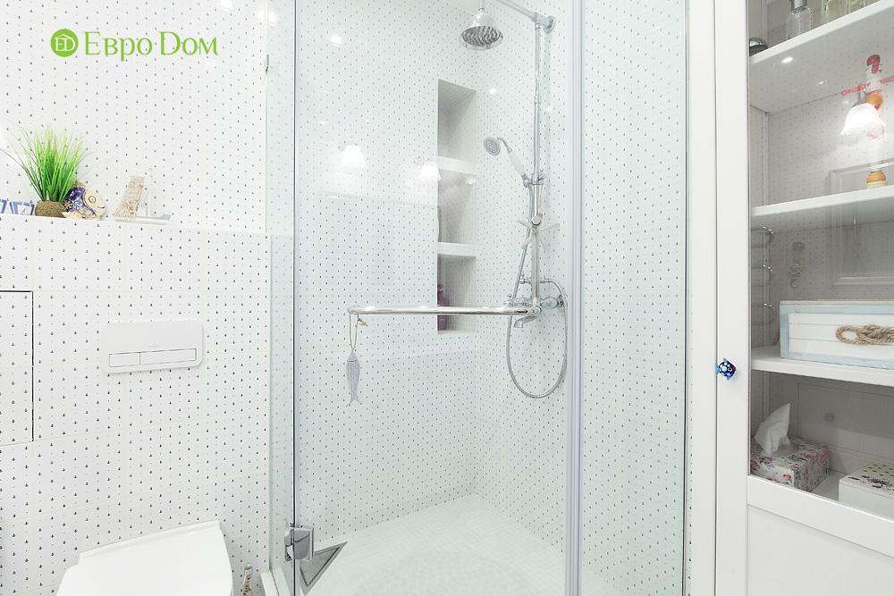 Дизайн 2-комнатной квартиры 74 кв. м в стиле прованс. Фото 017