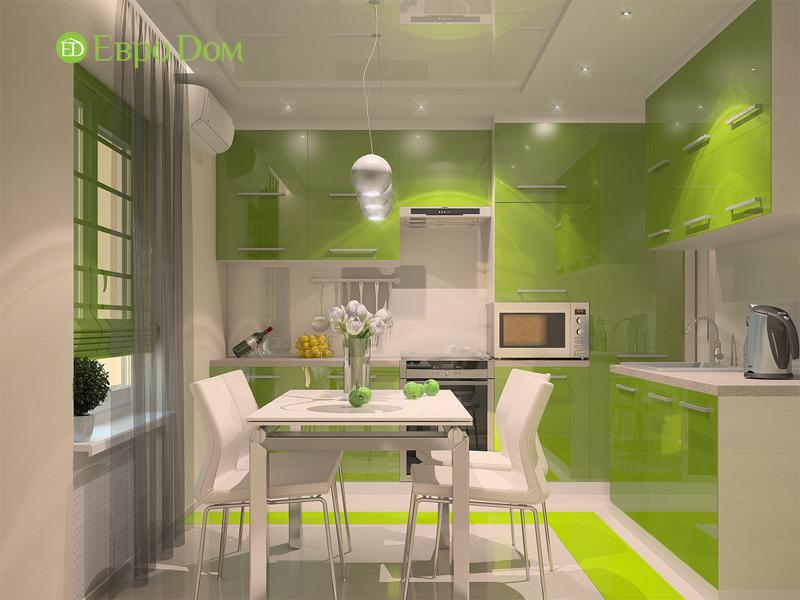 На фото: интерьер двухкомнатной квартиры в современном стиле