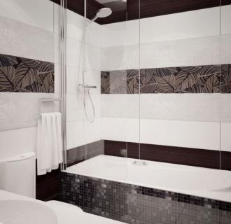 Дизайн двухкомнатной квартиры 58 кв. м в современном стиле. Фото проекта