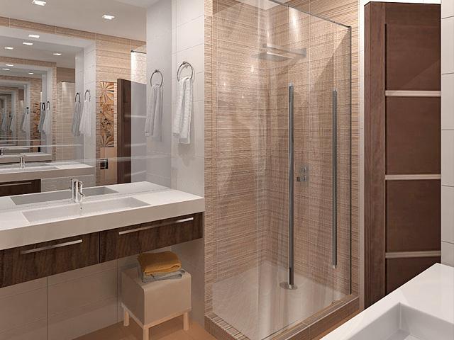 Дизайн двухкомнатной квартиры 62 кв. м в современном стиле. Фото 04