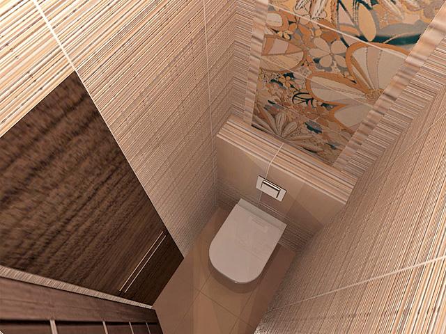 Дизайн двухкомнатной квартиры 62 кв. м в современном стиле. Фото 06