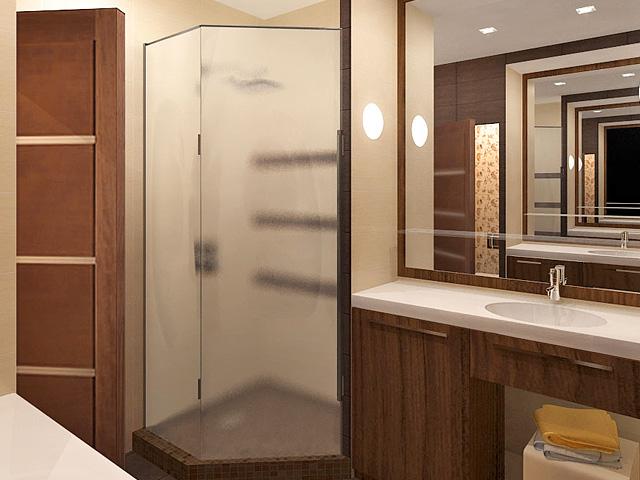 Дизайн двухкомнатной квартиры 62 кв. м в современном стиле. Фото 08
