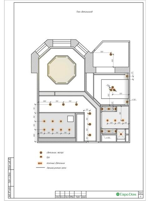 Дизайн двухкомнатной квартиры 62 кв. м в современном стиле. Фото 025