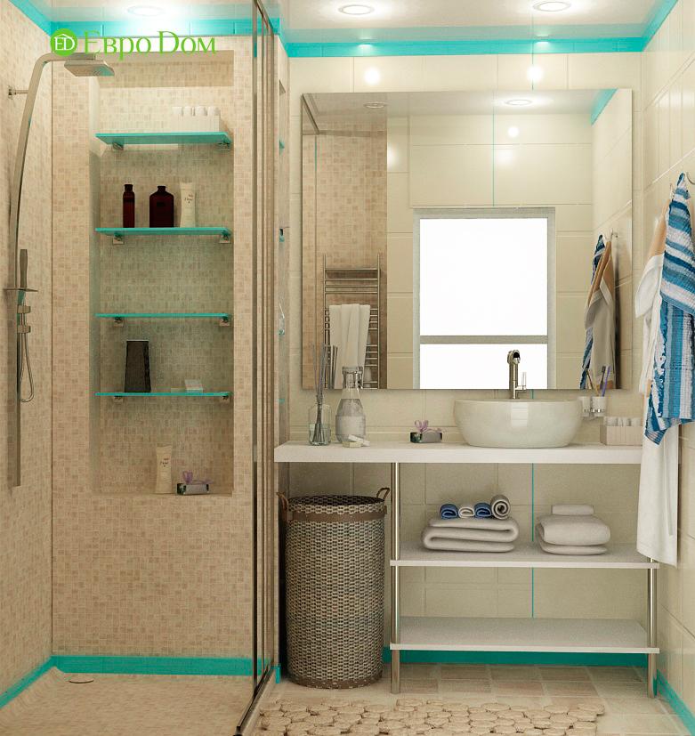 Дизайн двухкомнатной квартиры 63 кв. м в современном стиле. Фото 06