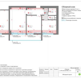 Дизайн двухкомнатной квартиры 61 кв. м в стиле лофт. Фото проекта
