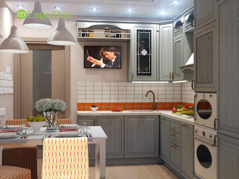 Дизайн квартиры в стиле прованс. Фото проекта 06