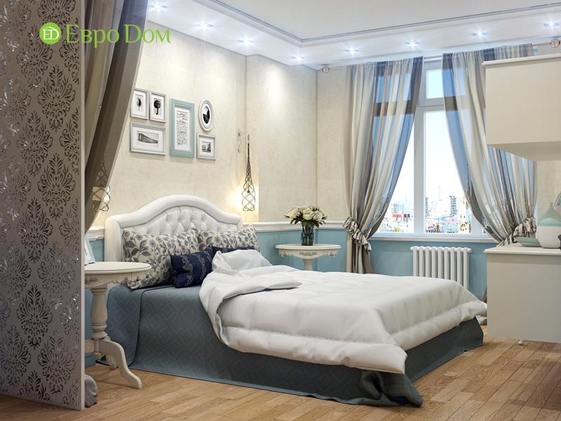 Дизайн квартиры в стиле прованс. Фото проекта 013