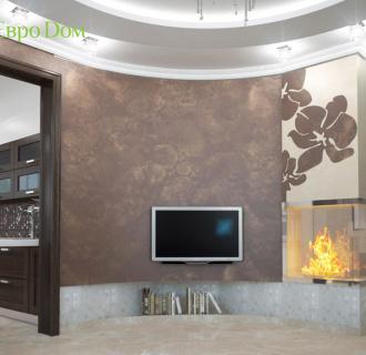Дизайн интерьера коттеджа 153 кв. м в современном стиле. Фото проекта