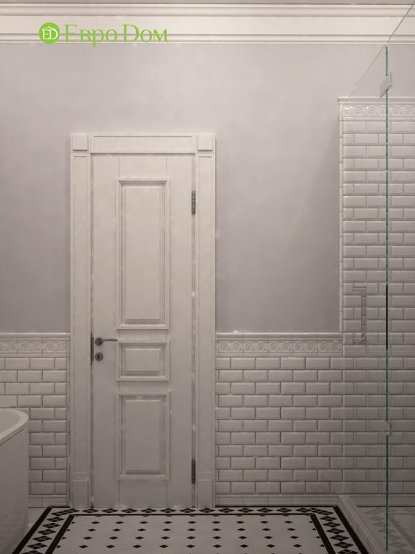 Дизайн интерьера трехкомнатной квартиры 100 кв. м в стиле прованс. Фото 018