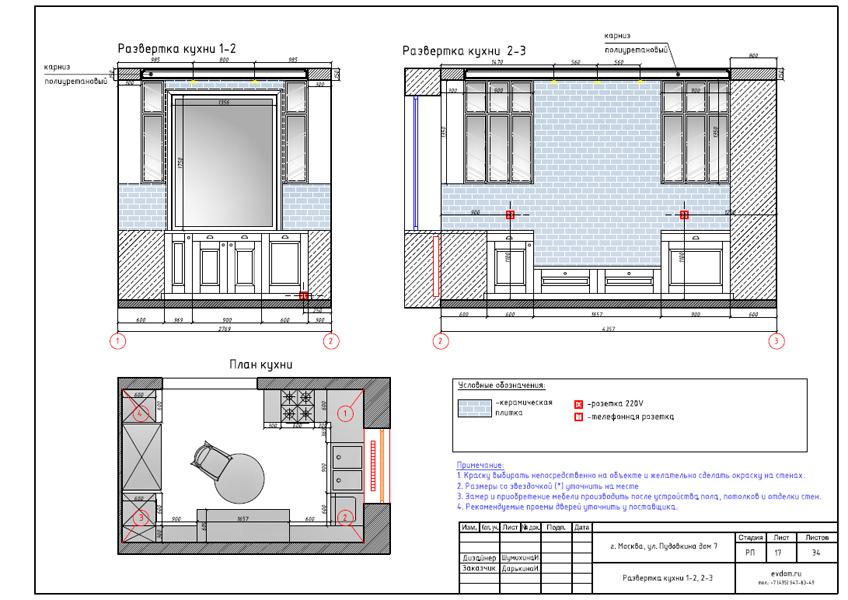 Дизайн интерьера трехкомнатной квартиры 100 кв. м в стиле прованс. Фото 035