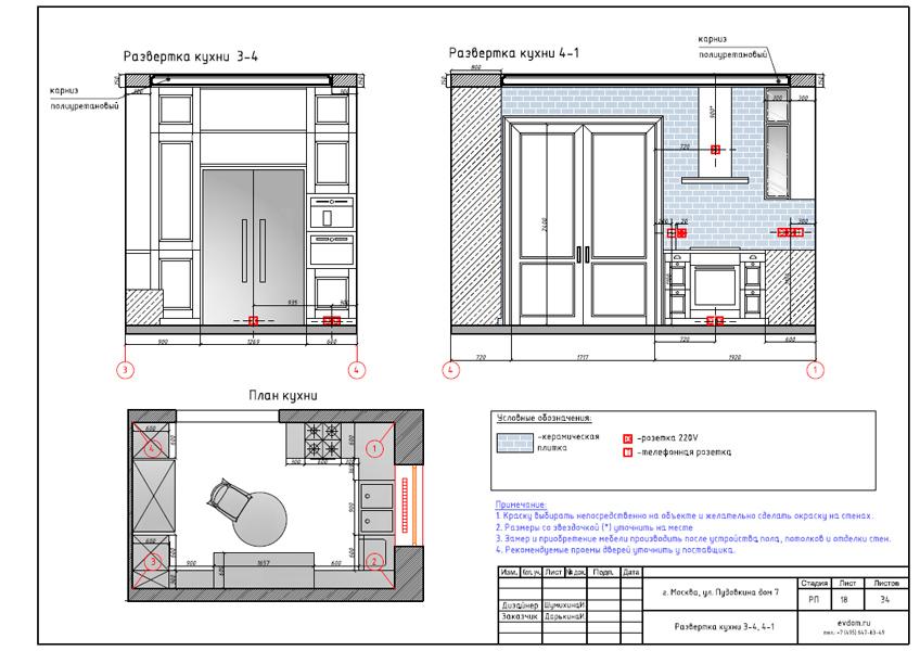 Дизайн интерьера трехкомнатной квартиры 100 кв. м в стиле прованс. Фото 036