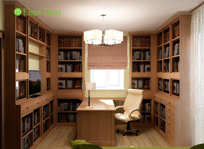 Дизайн интерьера коттеджа 434 кв. м в деревенском стиле. Фото 018