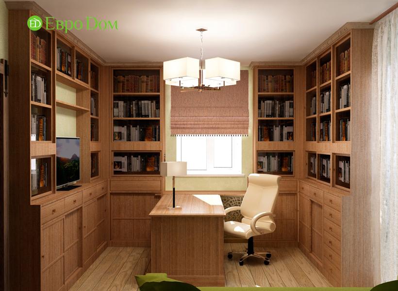 Дизайн интерьера коттеджа 434 кв. м в деревенском стиле. Фото 020