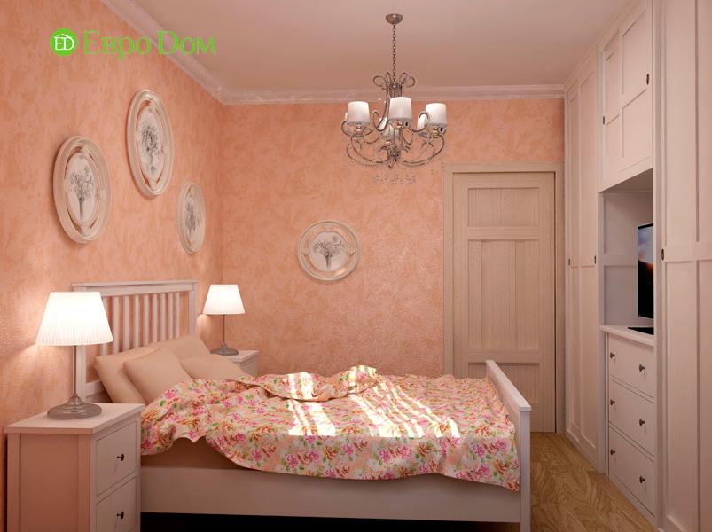 Дизайн интерьера коттеджа 434 кв. м в деревенском стиле. Фото 040