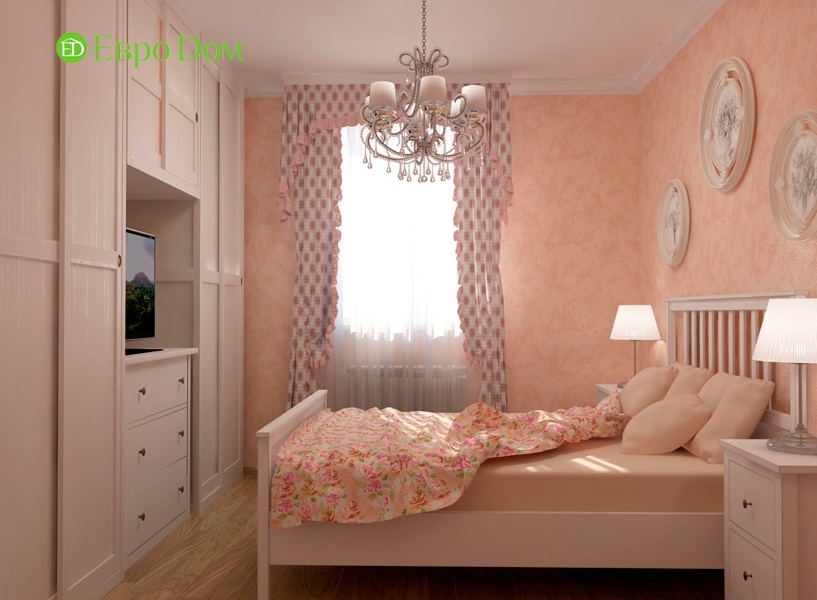 Дизайн интерьера коттеджа 434 кв. м в деревенском стиле. Фото 041