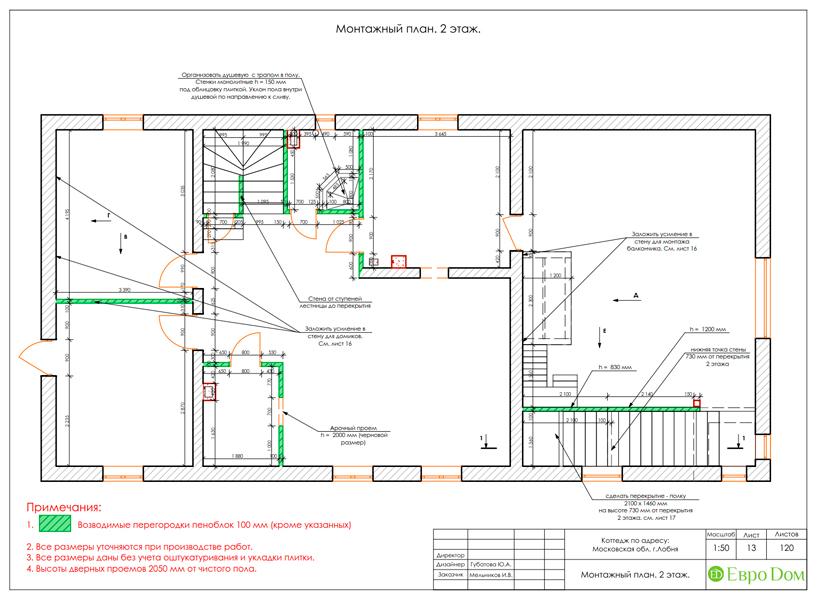 Дизайн интерьера коттеджа 434 кв. м в деревенском стиле. Фото 053