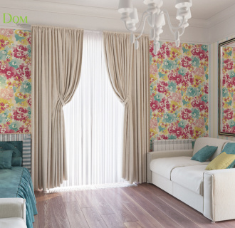 Дизайн интерьера коттеджа 267 кв. м в классическом стиле. Фото проекта