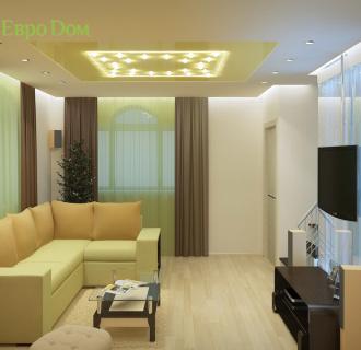 Дизайн интерьера коттеджа 150 кв. м в современном стиле. Фото проекта