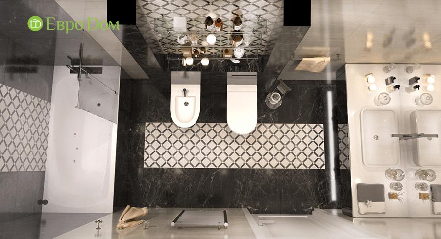 Дизайн интерьера коттеджа в стиле ар деко. Фото 027