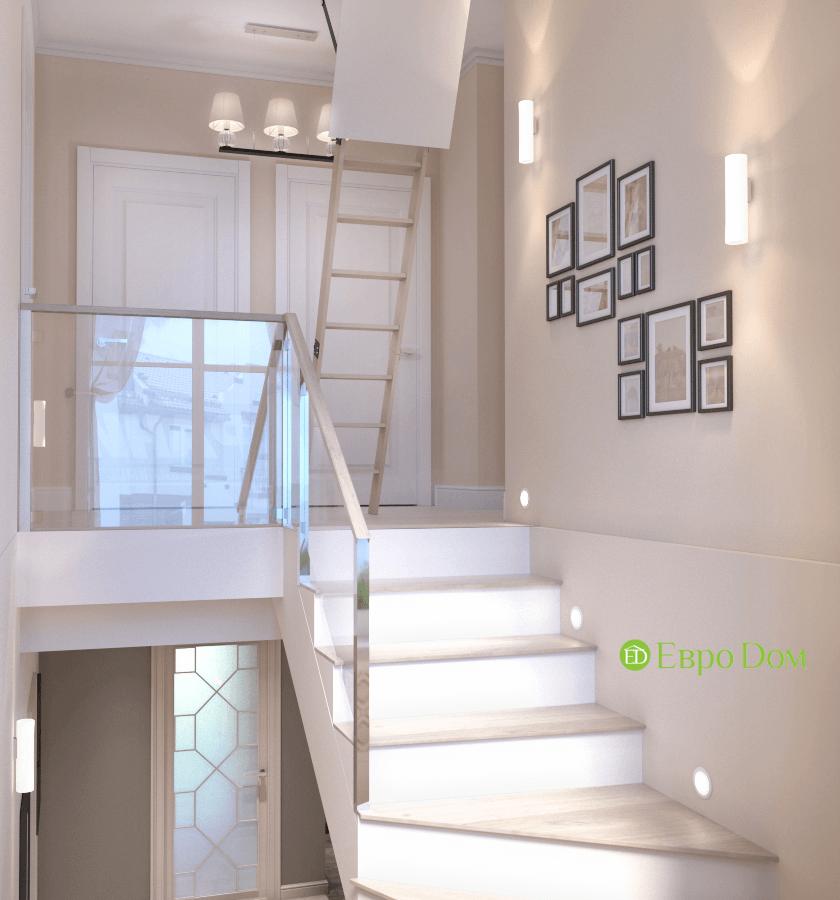 Дизайн интерьера коттеджа в стиле ар деко. Фото 034