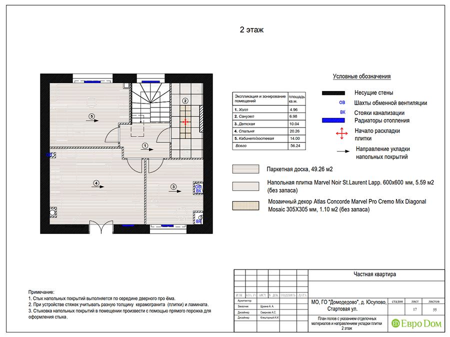 Дизайн интерьера коттеджа в стиле ар деко. Фото 050