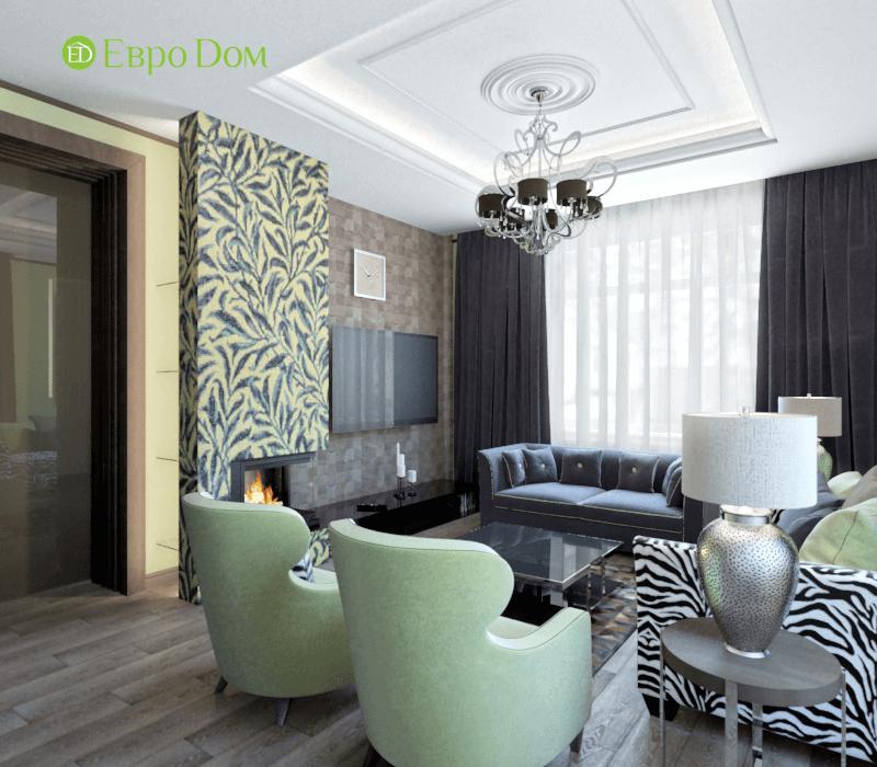 Дизайн интерьера коттеджа в стиле ар деко. Фото 016