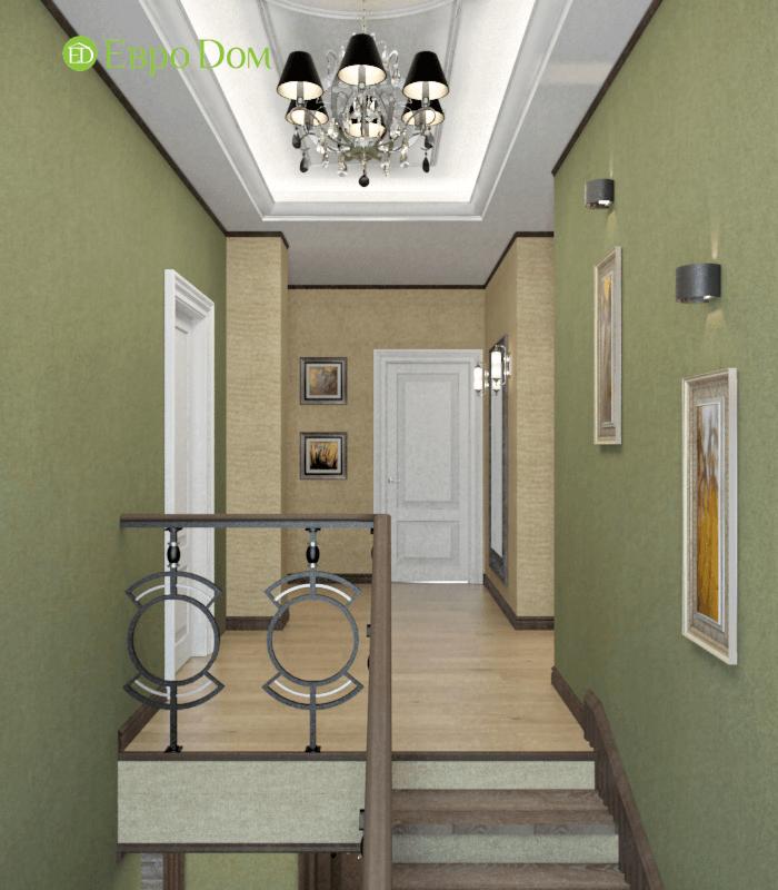 Дизайн интерьера коттеджа в стиле ар деко. Фото 023