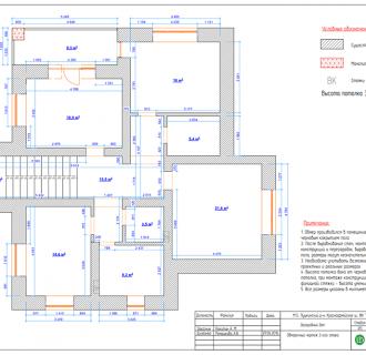 Дизайн интерьера коттеджа 215 кв. м в стиле ар-деко. Фото проекта