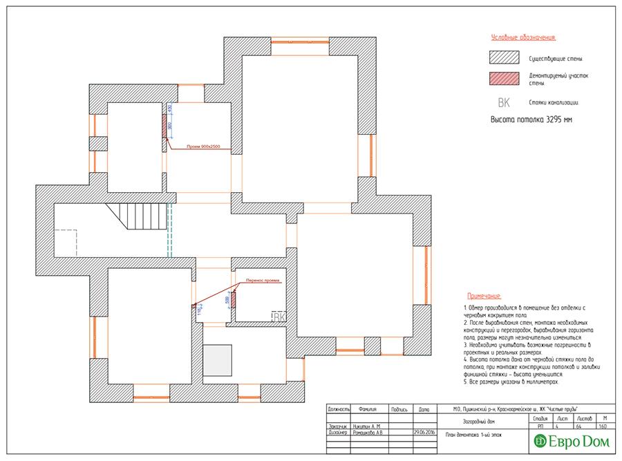 Дизайн интерьера коттеджа в стиле ар деко. Фото 035