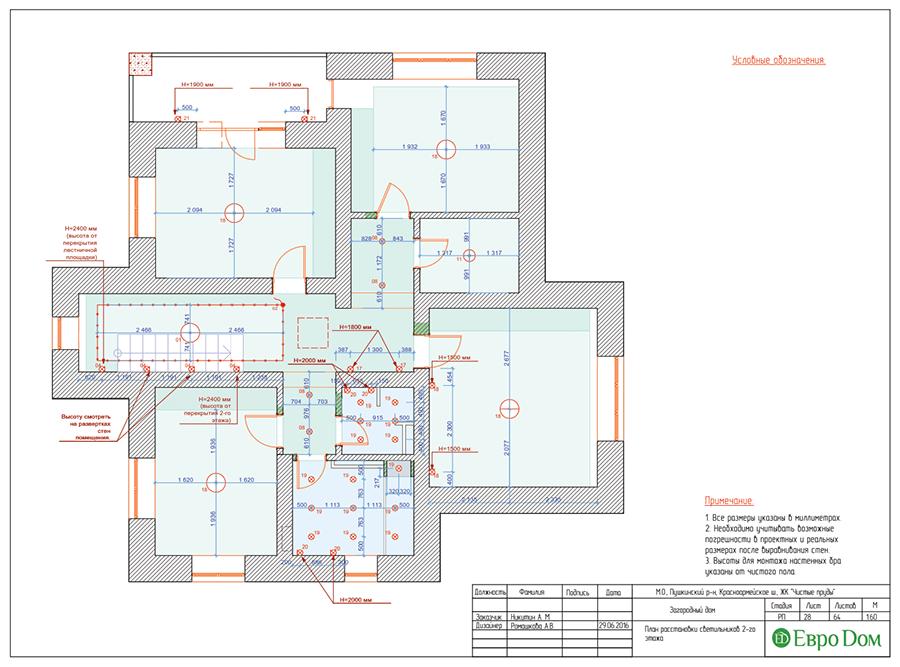 Дизайн интерьера коттеджа в стиле ар деко. Фото 058