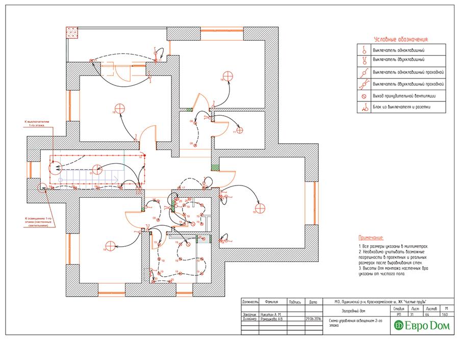 Дизайн интерьера коттеджа в стиле ар деко. Фото 061