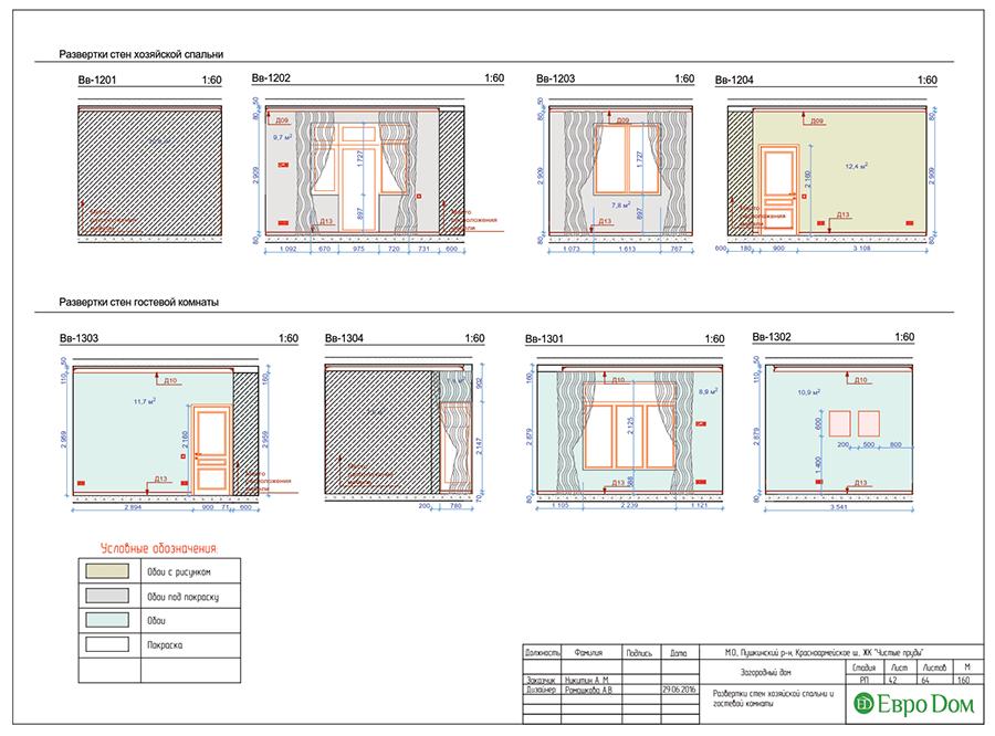 Дизайн интерьера коттеджа в стиле ар деко. Фото 072