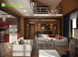 Дизайн частного дома внутри. 40 фото