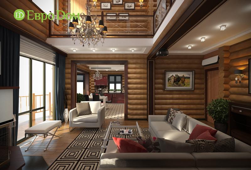 Дизайн интерьера коттеджа 235 кв. м в стиле модерн. Фото 03