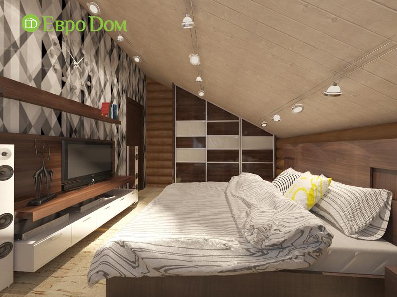 Дизайн интерьера коттеджа 235 кв. м в стиле модерн. Фото 027