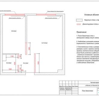 Дизайн однокомнатной квартиры 35 кв. м в современном стиле. Фото проекта