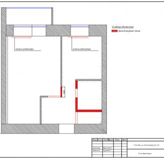 Дизайн однокомнатной квартиры 32 кв. м в современном стиле. Фото проекта