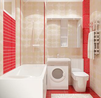 Дизайн однокомнатной квартиры 33 кв. м в современном стиле. Фото проекта