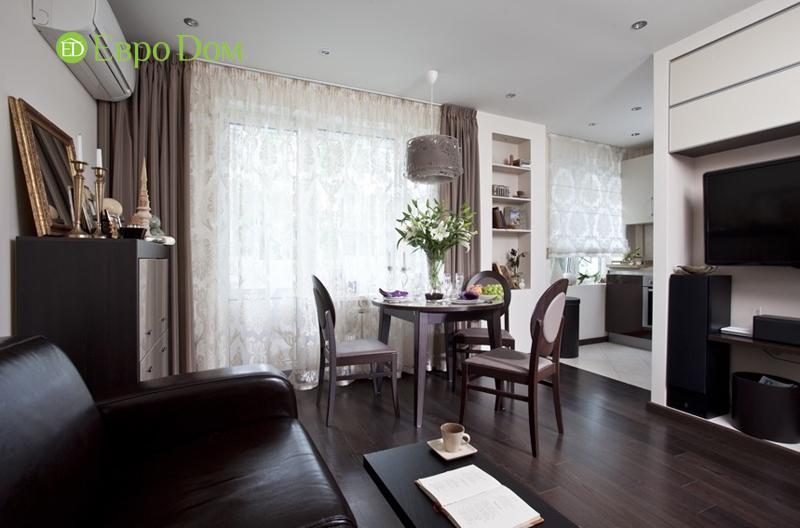 Перепланировка квартиры 33 кв. метра