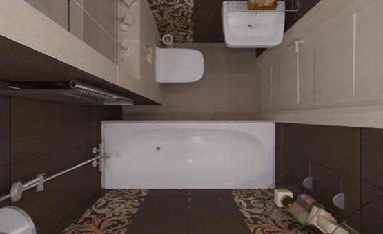 Дизайн интерьера 1-комнатной квартиры 37 кв.м. по адресу МО, Люберецкий р-н, д. Мотяково, к. 11.3, ЖК «Кореневский форт». Фото 4