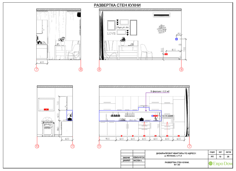 Дизайн квартиры в стиле эклектика. Фото 031