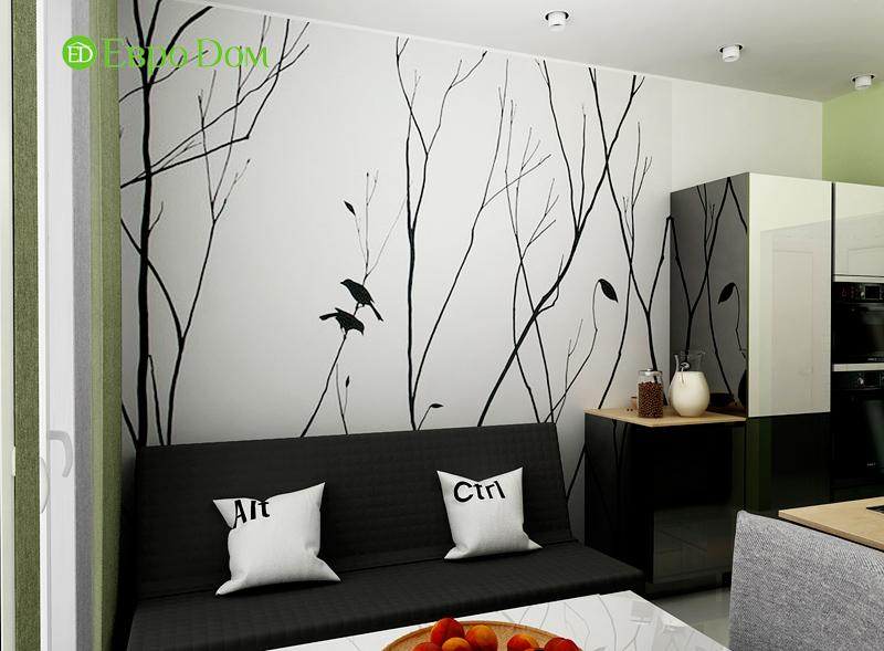 Дизайн квартиры в стиле функционализм. Фото 05